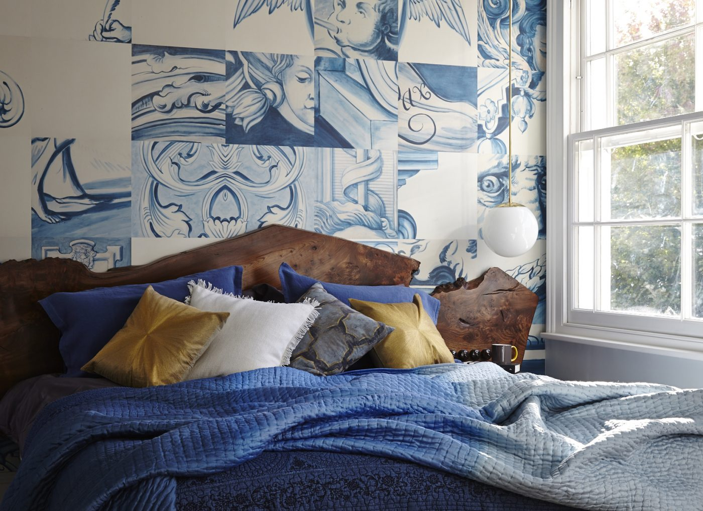 stylish bedroom cool wallpaper