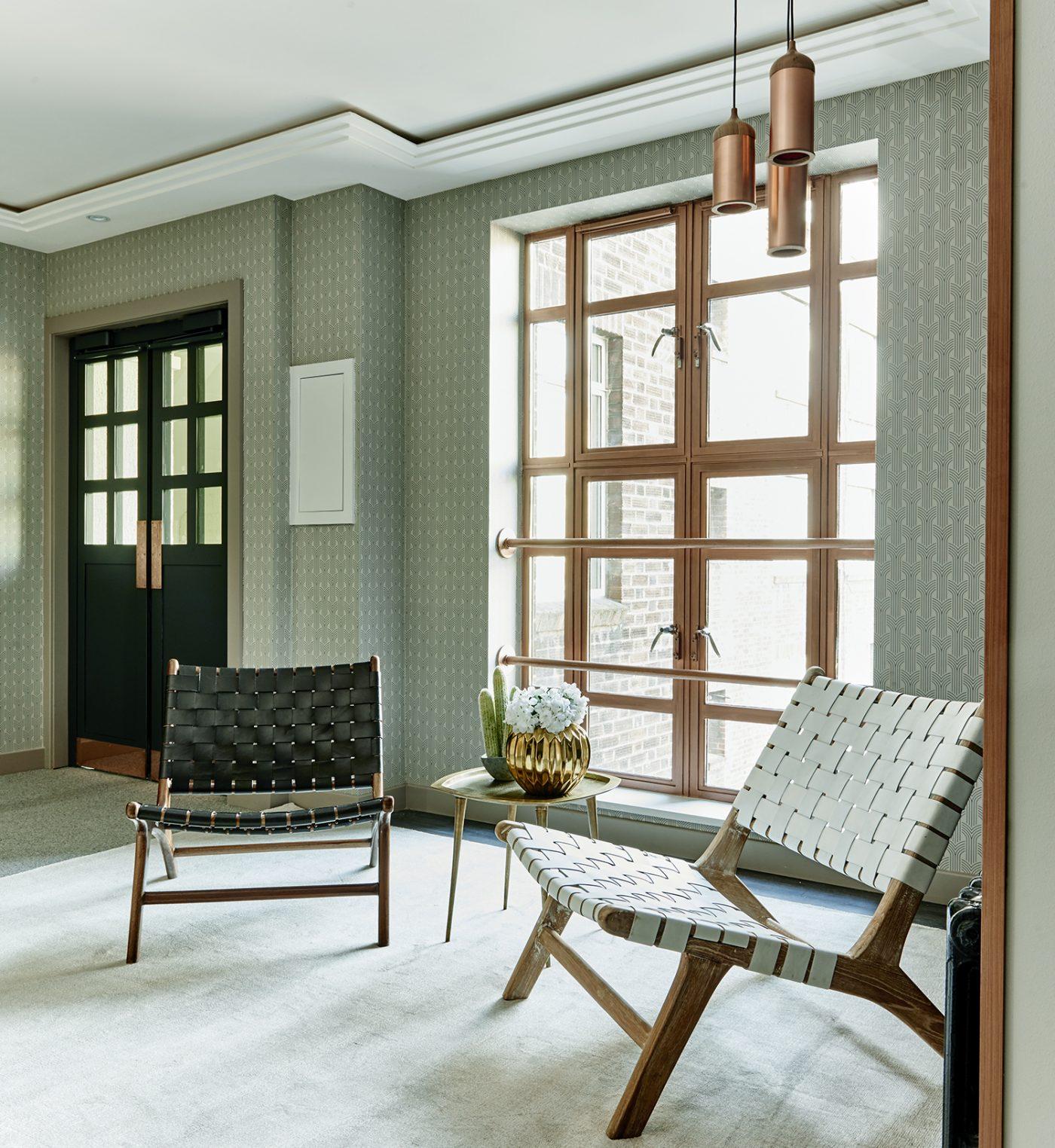 Art Deco Lobby Design