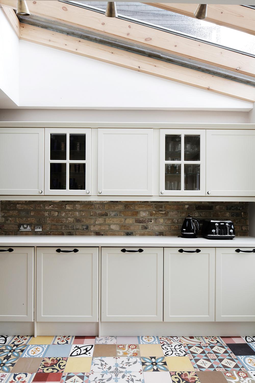 kitchen-encaustic-cement-tiles-patchwork-brick-splashback-kitchen ...