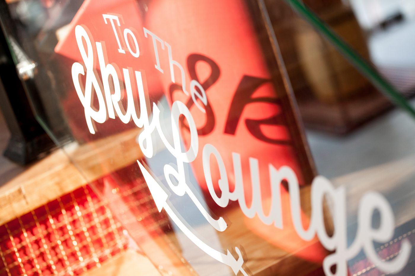 wayfinding custom typography