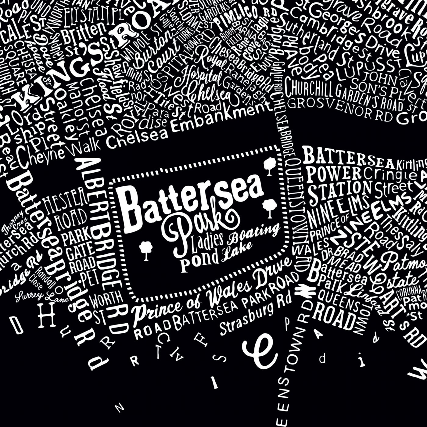 Road Map Central London.The Typographic Street Map Of Central London Run For The Hills