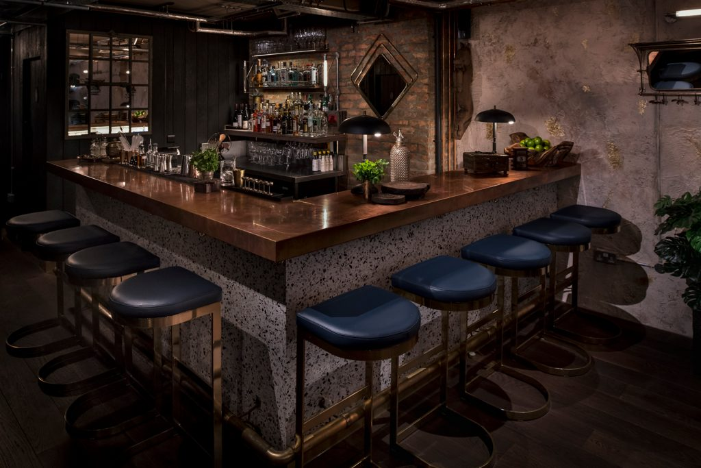 kricket-soho-london-bar-restaurant-private-dining-custom-bar-stools