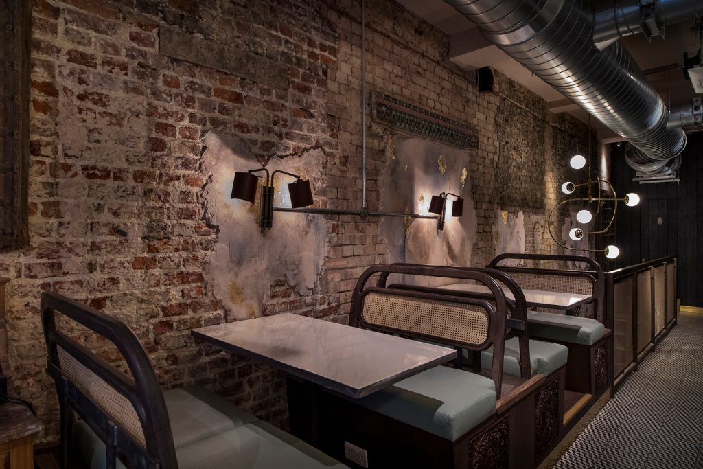 kricket-soho-london-bar-restaurant-upstairs-seating-dining-interior-design