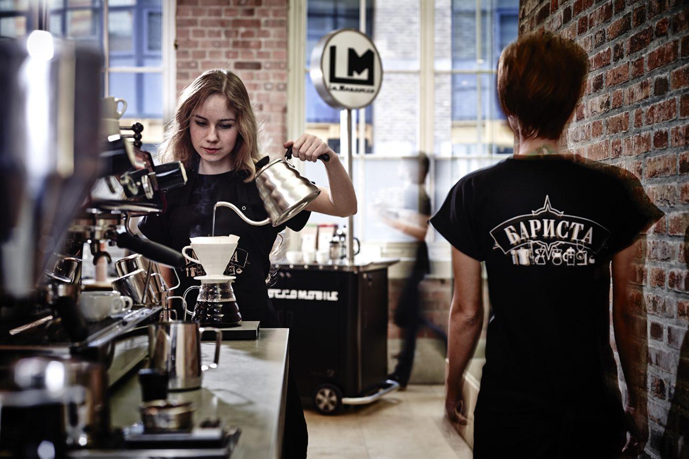 artisan coffee branding design styling photo interior