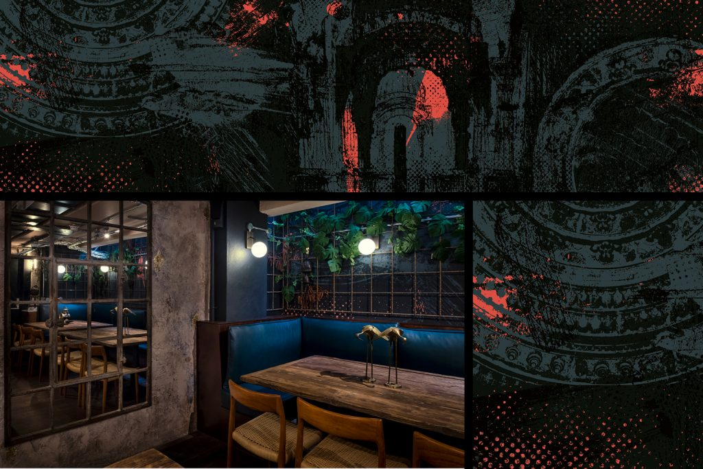 kricket-soho-london-bar-restaurant-design-interiors-mural-private-dining-natasha-kumar