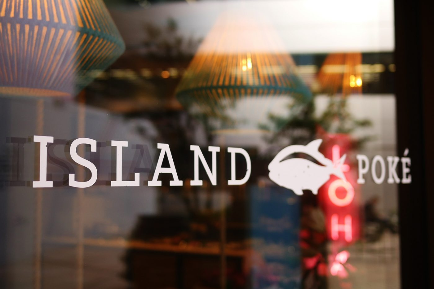 island-poke-decal-logo-window-sign-graphic-design-london-broadgate-hawaiian