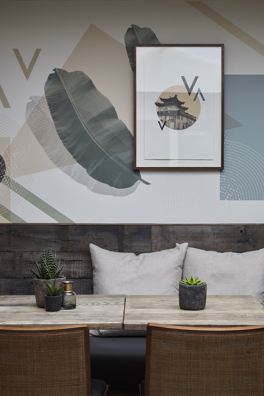 Mam_restaurant_bar_interior_design_branding_london_nottinghill_bespoke_wallpaper_framed_artwork_vietnam_seating