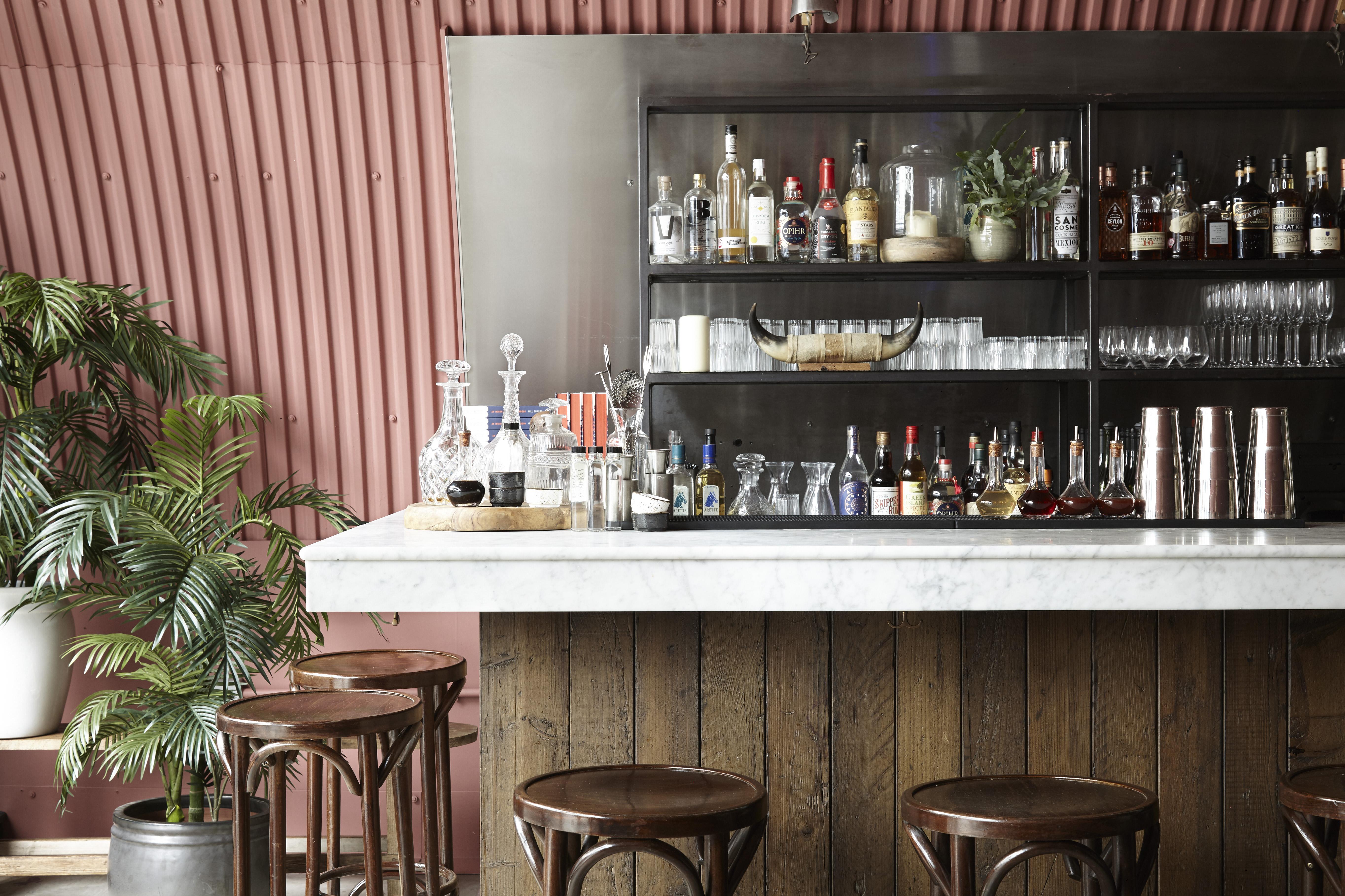 Bar Krict London Cool Restaurant Design